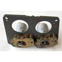 Блок редукторов с 2-мя асинхронными индукционными двухфазными электродвигателями ДИД-0,5ТА