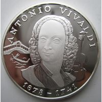Андорра. 10 динеров (экю) 1997. Серебро. Пруф. 207