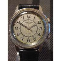 Часы Полет Сигнал 2602 с будильником сверчок