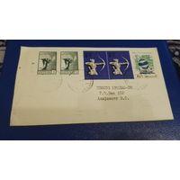 Литва. первые марки на конверте, история, распродажа