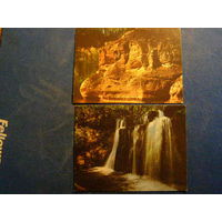 Календарики Природа Латвия 1989