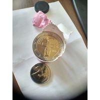 2 евро Кипр 2015 год