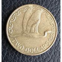 2 доллара 2005 Новая Зеландия