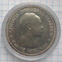 Гана 10 шиллингов 1958г серебро