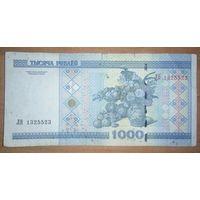 1000 рублей 2000 года, серия ЛВ