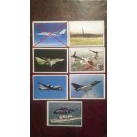 Наклейка Боевые самолеты (Panini)