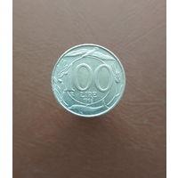Италия / 100 lire (R) / 1996 год