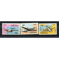 Гвинея-Бисау - 1984 - Авиация - [Mi. 754-756] - полная серия - 3 марки. MNH.