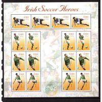 Ирландия-2002,(Мих.1436-1439) ЧМ-2002 по футболу, лист,**