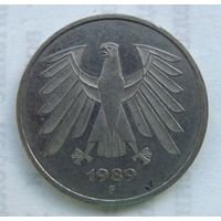 1989 г. 5 марок. F