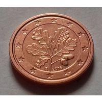 1 евроцент, Германия 2015 G, UNC