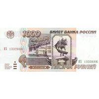 Россия 1000 рублей 1995 UNC