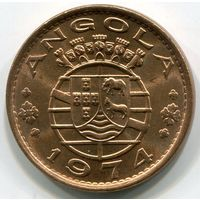 (C3) АНГОЛА - ЭСКУДО 1974 UNC