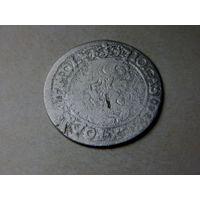 6 грошей (шостак) 1665 Редкая ( IO: CASI. DG ...)