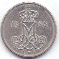 Дания, 10 эре 1986 года.