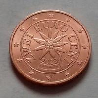 2 евроцента, Австрия 2018 г., UNC