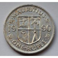 Маврикий 1 рупия, 1990 г.