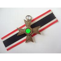 Крест военных заслуг (КВК) без мечей. Клеймо 10. Оригинал. Арт25.