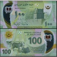 Мавритания - 100 угий - 2017 г. - UNC