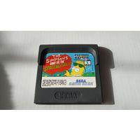 The Simpsons Sega Game Gear