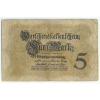 Германия, 5 марок 1914 год.
