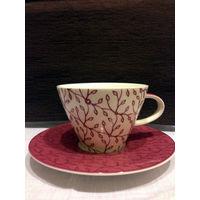 Чашка с блюдцем Villeroy and Boch, Coffee club