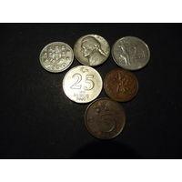 Монеты набор 1