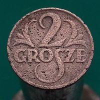 2 гроша 1927 ПОЛЬША