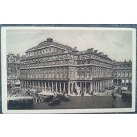 Париж. Французский Театр. Старинная открытка. Чистая.
