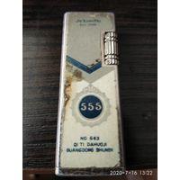 """Газовая зажигалка с кремневым розжигом""""555""""."""