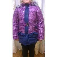 Куртка зимняя р. 128