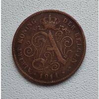 Бельгия 2 сантима, 1912 'DER' 6-3-46