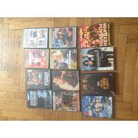 DVD диск фильмы + мультики одним лотом. 18 штук + мелочи