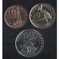 Южный Судан 10,20,50 пиастров 2015 г. Состояние новое!!!