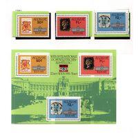 Суринам-1981,(Мих.945-947,Бл.30) **  , 20% каталога, Филвыставка