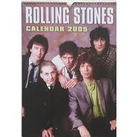 КАЛЕНДАРЬ НАСТЕННЫЙ ПЕРЕКИДНОЙ, Rolling Stones 2005г.