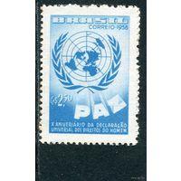 Бразилия. 10 лет декларации прав человека ООН