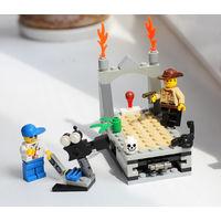 """Набор Lego Temple of Gloom (Храм Мрака) из фильма """"Индиана Джонс и Искатели Ковчега Заветов"""" с инструкцией"""