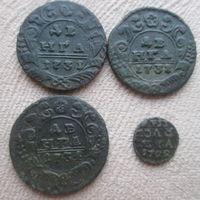 Деньга 1731,1734 полушка (врп) 1722