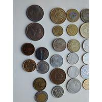 Отличный лот монет 50шт,без повторов .С1 рубля