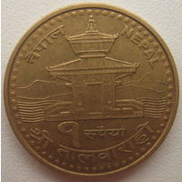 Непал 1 рупия 2005 г. (d)