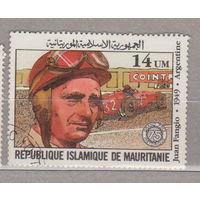 Авто машина  75-летие автопробега Гран-при Франции Мавритания 1982 г лот 3