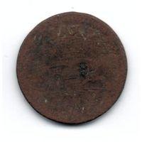 Торги с 10-ти копеек! 1 грош Речь Посполитая 1755