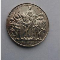 2 марки 1913 г.100 лет поражения Наполеона.Пруссия.Серебро.Состояние!!!