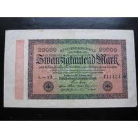 ГЕРМАНИЯ 20 000 МАРОК 1923 ГОД