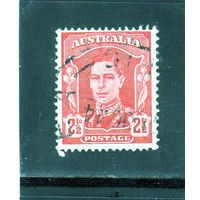 Австралия.Ми-166. Король Георг VI (1895-1952). 1942.