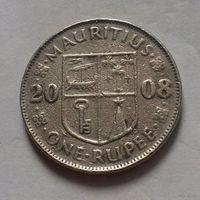 1 рупия, Маврикий 2008 г.