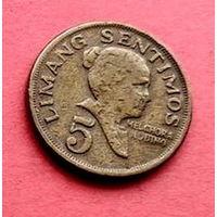 05-17 Филиппины, 5 сентимо 1974 г.