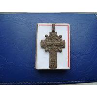 Редкий старинный нательный крестик       (3230)