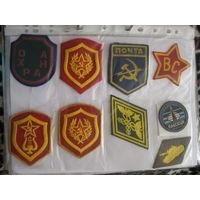 Куплю нечастые шевроны СССР, которых нет в коллекции